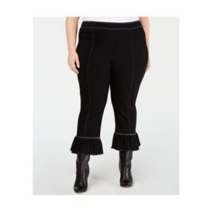 INC Womens Contrast Stitch Pants